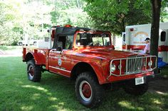 Jeep M715 Fire Truck, Massie Township Fire Department