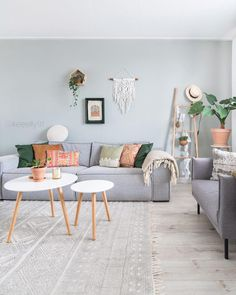 Interior Living Room Design Trends for 2019 - Interior Design Boho Living Room, Interior Design Living Room, Home And Living, Living Room Designs, Living Room Decor, Bedroom Decor, Living Rooms, Karton Design, Deco Studio