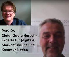 Prof. Dr. Dieter Georg Herbst - Experte für (digitale) Markenführung und Kommunikation