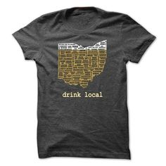 Awesome Tee OHIO BEER T shirts