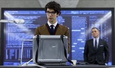 Ben Whishaw playing Q to Daniel Craig's James Bond in Skyfall. Britain's secret service head, Sir Alex Younger, says the real Q is a woman.
