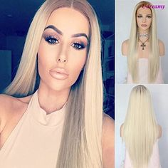 Udreamy Fashion Synthetic Lace Front Wigs Light Brown Omb... https://www.amazon.com/dp/B071K5B9PS/ref=cm_sw_r_pi_dp_x_Dx8.zb0FTC3TH