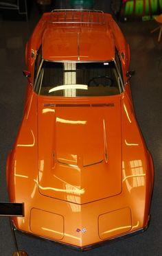 Corvette. Ontario Orange