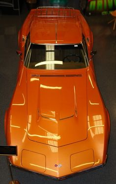 1971 Chevrolet Corvette Stingray 454 - In Ontario Orange