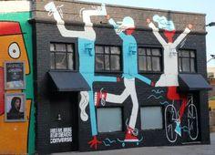 'Graffitti' in Shoreditch - A short guide to London's street art
