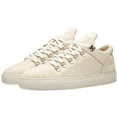 Filling Pieces Mountain Cut Sneaker (25150 RSD) ❤ liked on Polyvore featuring men's fashion, men's shoes and men's sneakers