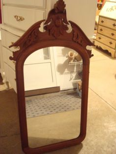 Antique Wall Mirrors great large antique walnut victorian eastlake hall entry wall