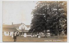 Indian Lake,Ohio-Lakeside O'Connor's Landing-c1908 Real Photo hj78 | eBay