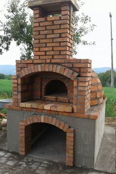 Build A Pizza Oven, Diy Pizza Oven, Pizza Oven Outdoor, Outdoor Cooking, Pizza Ovens, Gas Bottle Bbq, Brick Grill, Outdoor Barbeque, Outdoor Fireplace Designs