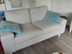 Divano kivik ~ Make your ikea kivik sectional taller add legs includes a how to