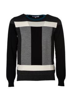 SALVATORE FERRAGAMO Salvatore Ferragamo Colour Block Jumper. #salvatoreferragamo #cloth #sweaters
