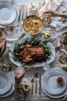 Local Milk   modern nostalgia: a thanksgiving table & rose apple tart