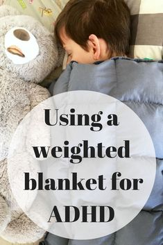We have had great success using a weighted a blanket for adhd. My son falls asleep in under 10 mintues! This weighted blankets a life saver.