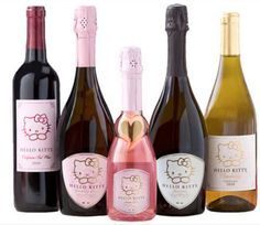Hello Kitty wine for the cutest bender ever     - CNET  Enlarge Image  Toast to everyones favorite mouthless cat with Hello Kitty wine.                                              Torti Wine                                           Hello Kitty has no mouth. NO MOUTH. That means she cant drink the new line of Hello Kitty wine. So were just going to have to do it for her.   Italys Torti winery has teamed up with Sanrio the Japanese company behind Hello Kitty to create wine with the feline…