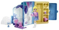 Polly Pocket Pop-Up Guidebook Artic Playset by Mattel. $14.99. From the Manufacturer                Polly Pocket Pop-Up Destination Guidebook: Polly can take her Pop-Up Guidebook to adventurous destinations and getaways including the arctic, a mountain forest and on safari. Includes fold-up playset, doll and pet. Each sold separately. Collect them all.                                    Product Description                This darling Polly Pocket Pop Up Destinations Set is sure...