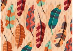 Vector Boho Feather Illustration 265311 - https://www.welovesolo.com/vector-boho-feather-illustration/?utm_source=PN&utm_medium=wesolo689%40gmail.com&utm_campaign=SNAP%2Bfrom%2BWeLoveSoLo