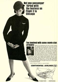 Vintage Badvertising: Flirty Flight Attendants | Stuff Mom Never Told You