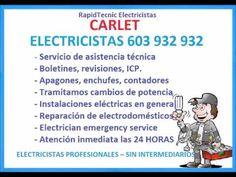 Electricistas CARLET 603 932 932 Baratos