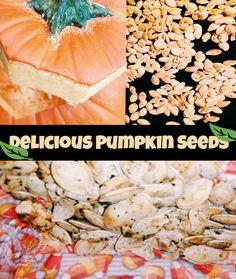 Delicious Spicy Pumpkin Seeds #pumpkin #pumpkinseeds #halloween