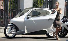 O inabalável carro de duas rodas