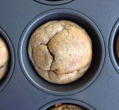 5 Ingredient Banana Almond Butter Muffins Gluten free, Whole 30 and Paleo compliant