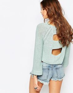 afc482dcda05db Free People Endless Stories Pullover Knit from ASOS