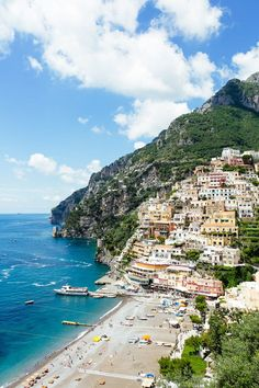 The Amalfi Coast: Positano |