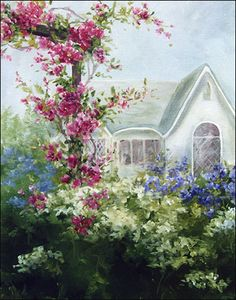 San Carlos Cottage ~ by Connie Parkinson