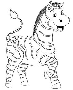 só animais - Jane Lucia - Picasa Web Albums Farm Animal Coloring Pages, Easy Coloring Pages, Coloring For Kids, Coloring Books, Zebra Drawing, Zoo Drawing, Drawing Clipart, Farm Animals For Kids, Safari Animals