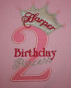 Items similar to Greatstitch Birthday Princess Birthday Second Birthday Birthday Pink Shirt Birthday Girl on Etsy 1st Birthday Princess, 2nd Birthday Parties, Princess Party, Disney Princess Snow White, Baby Cards, Birthday Shirts, Birthdays, Ruffle Shirt, Party Ideas