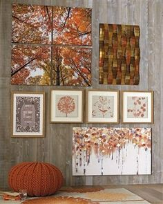 Abstract Birch Tree Canvas from Next Living Room Orange, Bedroom Orange, Dining Room Wall Art, Living Room Decor, Orange Interior, Living Room Accessories, Tree Canvas, Cheap Carpet Runners, Front Rooms