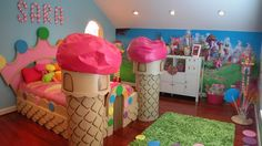 i would love to have a Candy Land room for my little girl when i have one.