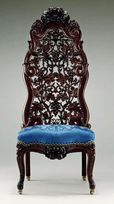 Slipper Chair John H. Belter (1804–1863) ca. 1855 Made in New York, New York, United States Rosewood, ash