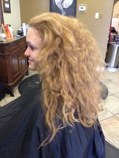1 of 3,A walk in is a rare thing these days, but this girl walked in and was wanting a complete transformation, from cut to color don't be shocked y'all, but she was wanting a mahogany color , check it out.