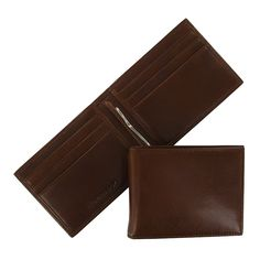 Time to upgrade with this Men's slim leather Wallet with Money Clip by Leatherology.    $75