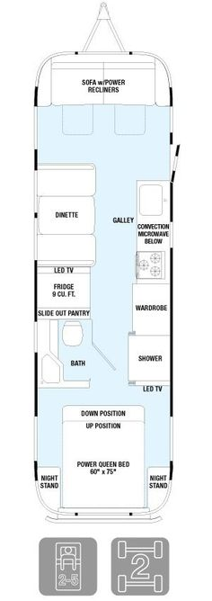 "Floor Plans - Classic 30  31'3"" length 8'5.5"" width interior 8'1"" X 6'7.5"""