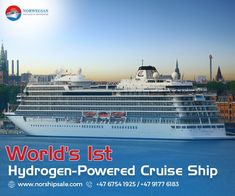 Interested to know how a hydrogen fuelled vessel is making waves (quite literally) in the shipping industry? Read on.
