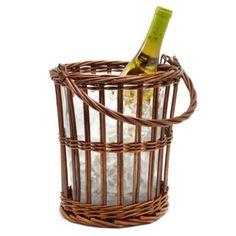 Wicker Wine Bucket from Z Gallerie