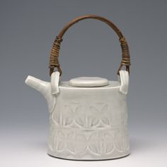 Anne Mette Hjortshoj - Teapot..... aiming for a similar glaze feel with current pieces....