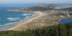 Praia Grande. Miño. (A Coruña). Galicia. Spain.