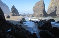 Secret Beach, Lincoln City, OR