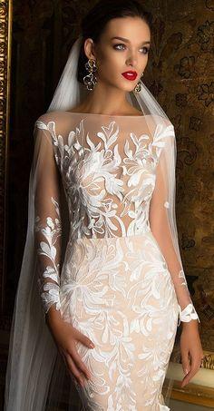 Milla Nova Bridal 2017 Wedding Dresses / www.deerpearlflow… Milla Nova Bridal 2017 Wedding Dresses / www. Bridal Wedding Dresses, Dream Wedding Dresses, Wedding Attire, Wedding Bride, 2017 Wedding, Wedding Ceremony, Wedding Dressses, 2017 Bridal, Backless Wedding