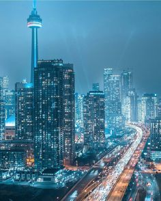 Toronto Skyline, Toronto City, Landscape Photos, Landscape Photography, Toronto Images, Canada Pictures, Toronto Ontario Canada, Night Photography, Belle Photo