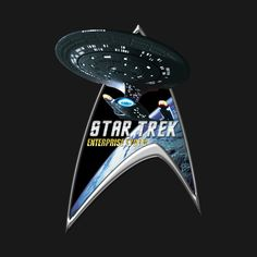Check out this awesome 'StarTrek+Command+Silver+Signia+Enterprise+1701+D++2' design on @TeePublic!