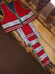 Ribbonwork   Regalia - Ribbonwork