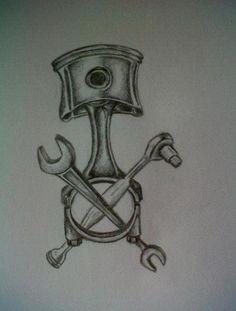 mechanic tattoo - Google Search