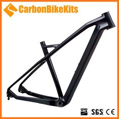 Custom logo CFM051 29er hard tail mtb carbon frame 29er mountain bike 2016