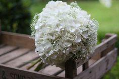 baby's+breath+and+hydrangea+wedding+bouquet   Hydrangea and baby's breath by krissy2013