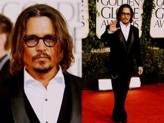 Johnny Depp on Golden Globe 2011