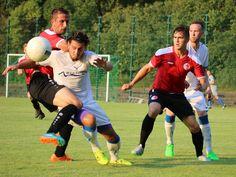 #Henning #Lichte (links) & #Baris #Gündüzer im Duell um den Ball. | Berliner AK 3:2 SV Altlüdersdorf